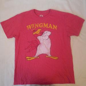 Looney Tunes T Shirt Foghorn Leghorn Wingman Tee